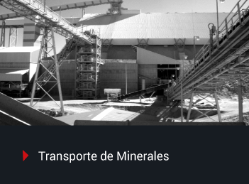 transporte minerales